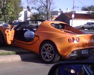 No, I didn't want this car crash